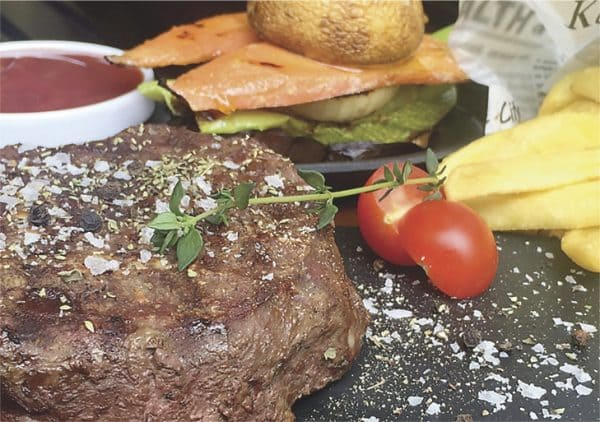 Royal steak of beef bon fillet