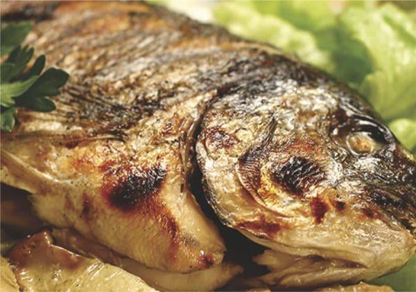 прясна риба и морски дарове