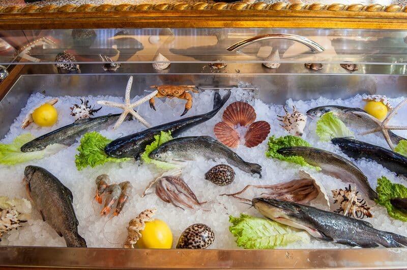 прясна риба и морски дарове ресторант стара загора